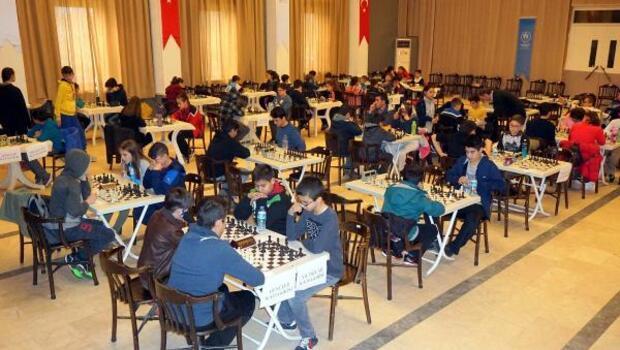 Ayvalıkta satranç turnuvası