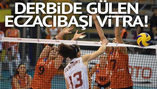 Eczacıbaşı VitrA - Galatasaray: 3-1