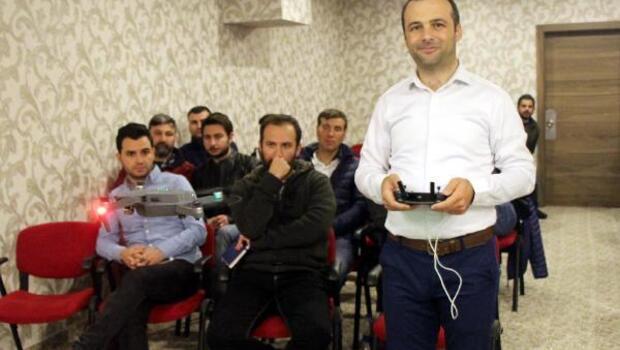 Kemerde drone eğitimi