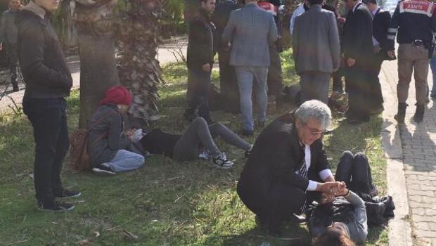 MHPli kadınlar kazada yaralandı