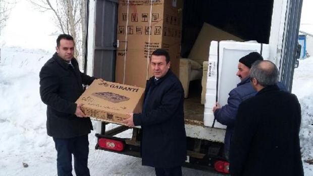 Erzurumdan Çata uzanan yardım eli