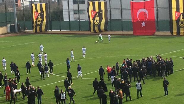 İstanbulspor-Erzurumspor maçı öncesi olay