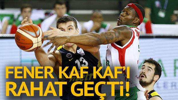 Pınar Karşıyaka 73-85 Fenerbahçe