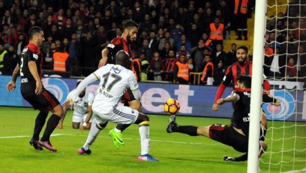Gaziantepspor- Fenerbahçe karşılaşması fotoğrafları