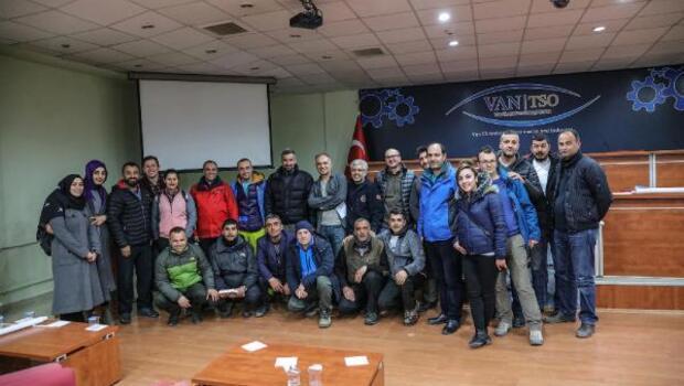 Milli Dağcı Fındık Vanda dağcılık konferansı verdi