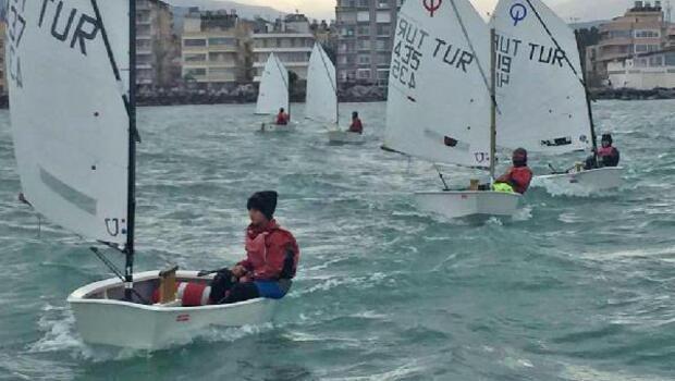 Yelkenciler Büyükşehir kupası için yarıştı