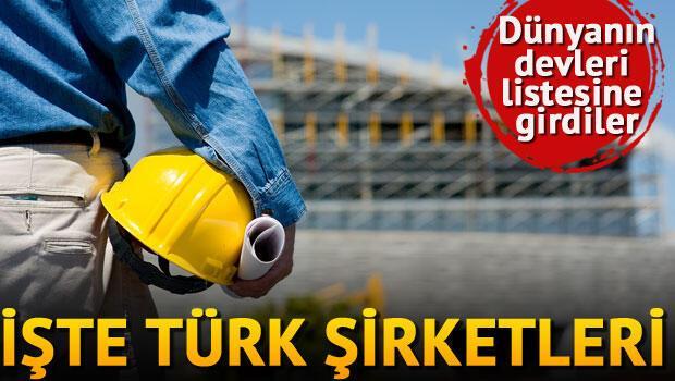Dünya devleri arasına Türkiyeden 40 şirket
