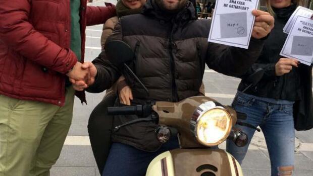CHPliler Marmariste sokakları dolaştı