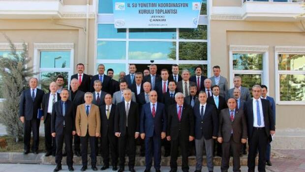Çankırıda Su Yönetimi Koordinasyon Kurulu Toplantısı