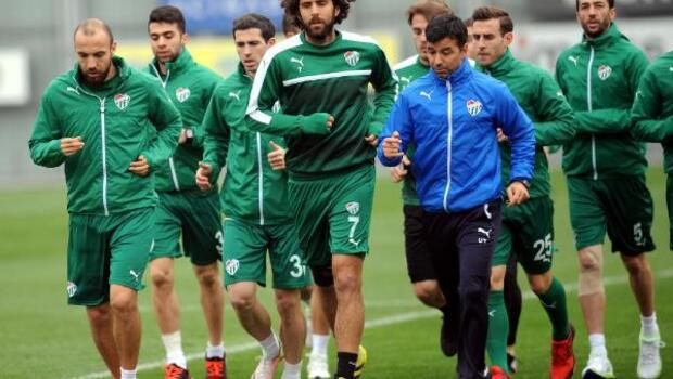 Bursaspor'a destek ve moral ziyareti