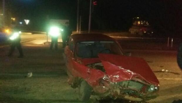 İpsalada trafik kazası: 1 ölü, 5 yaralı