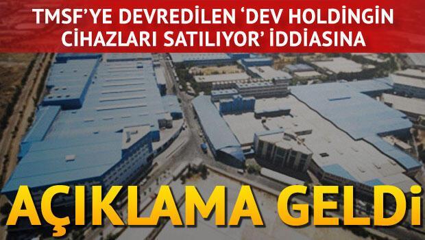 Naksan Holdingin elektronik cihazlarının satıldığı iddiasına yalanlama