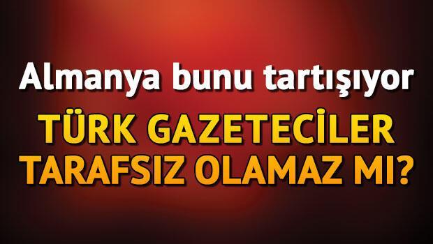 Türk gazeteciler Türkiye'yi yazmasın mı