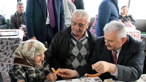 Başbakan Yıldırım, Sinopta