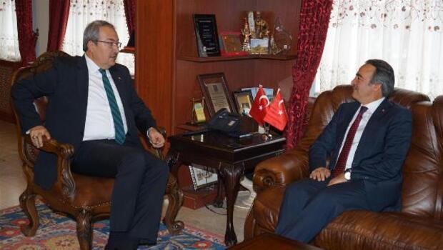 Rektör Bağlıdan Başkan Ünver'e ziyaret