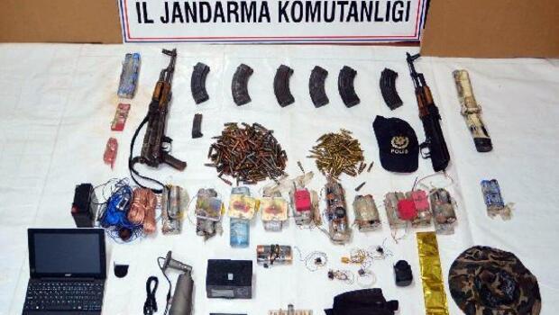 Tuncelide güvenlik kameralı PKK sığınağına operasyon