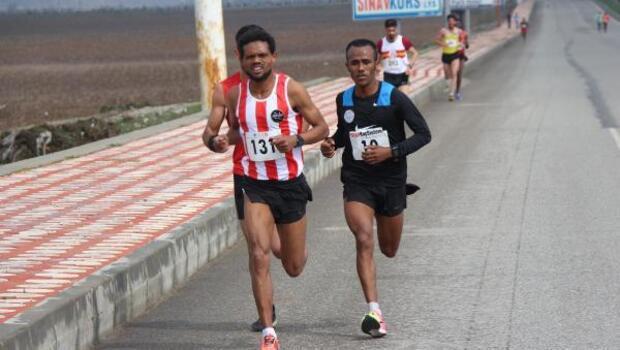 Batmanda Uluslaarası Yarı Maratonunu Etiyopyalı kazandı