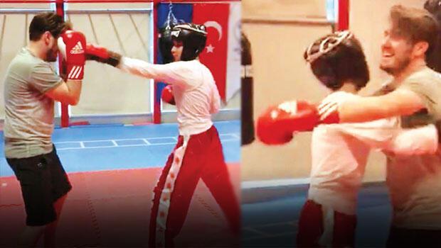 Mustafa Ceceliye şampiyondan boks dersi
