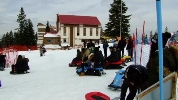 Ilgazda sezonun son kayakçıları