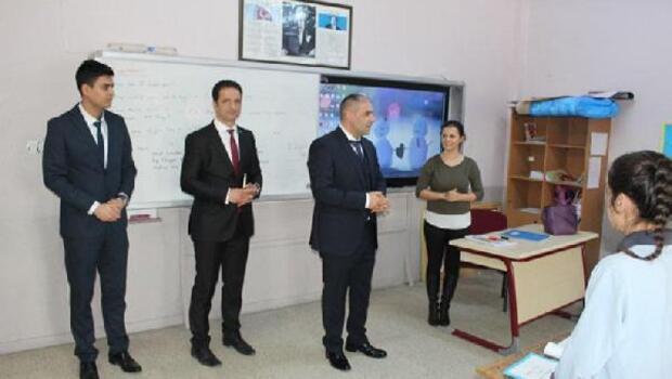 Kırklareli Milli Eğitim Müdürü Aşım, Demirköy'de bulunan okulları ziyaret etti