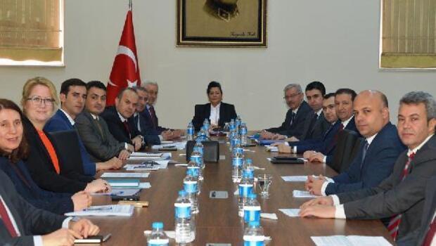 KÖYDES tahsisat komisyon toplantısı yapıldı