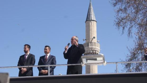 CHPli İnce: Ey Diyanet, devletin uçağıyla evet propagandası yapıyorlar, onlara fetva versene