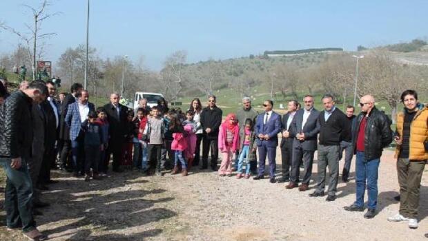 Körfezde Aşık Murat Çobanoğlu Hatıra Ormanı oluşturuldu