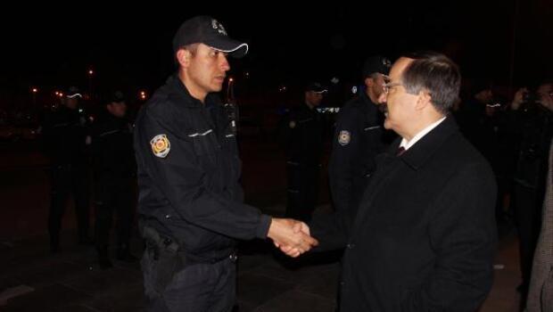 Sakaryada gece 1150 polis acil koduyla tatbikat için çağrıldı