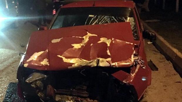 Otomobilin çarptığı motosiklette 3 çocuk yaralandı