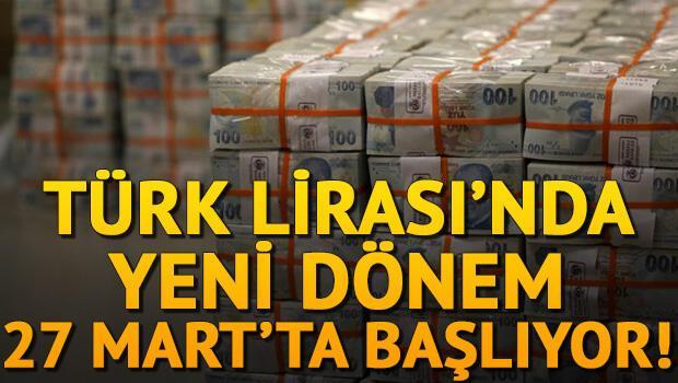 Türk Lirasında imza değişiyor