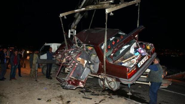 Kahramanmaraşta kaza: 5 ölü, 4 yaralı (2) - yeniden