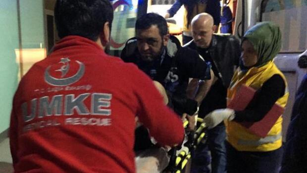 Cadde de karşılaştığı kişi bacağından vurdu