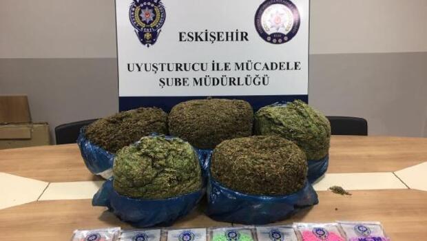 Eskişehirde uyuşturucu operasyonu: 2 gözaltı