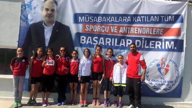 Osmaniyeli atletler dereceleyle döndü