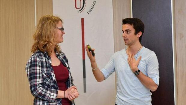 Erasmus öğrencileri deneyimlerini paylaştı