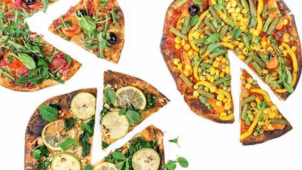 Pizzanın en sağlıklı hali 3 pizza tarifi