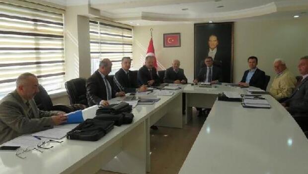Merzifon'da köylerin altyapısı masaya yatırıldı