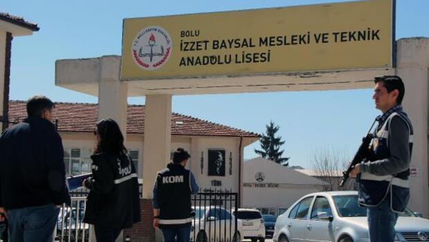 Boluda okulların çevresinde polis denetimi
