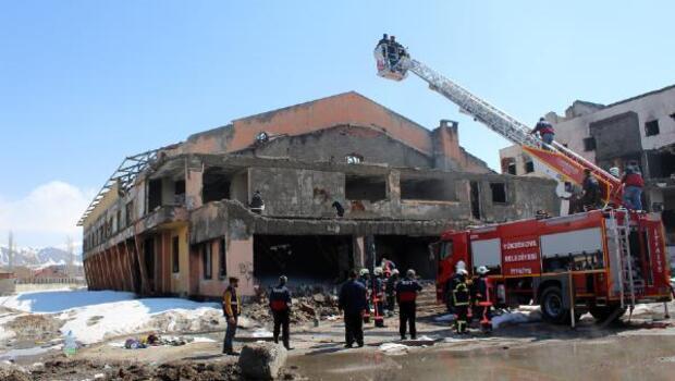 Yüksekovada kaza ve yangın tatbikatı