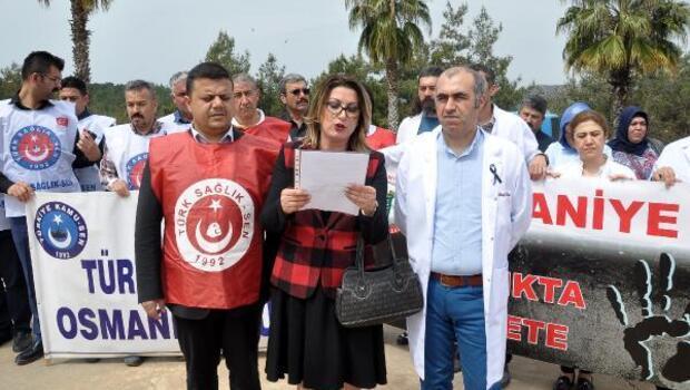 Sağlık çalışanlarından doktor cinayetine tepki