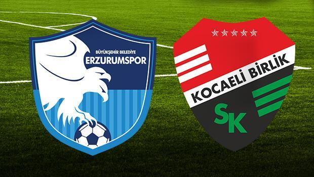 Erzurumspor Kocaeli Birlikspor maçı ne zaman, saat kaçta, hangi kanalda