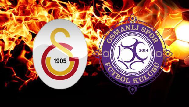 Galatasaray ile Osmanlıspor 16. randevuda