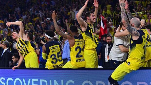 Fenerbahçe Eurolig Şampiyonu Oldu