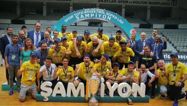 Ve Fenerbahçe şampiyon Seride 4. maç nefes kesti...