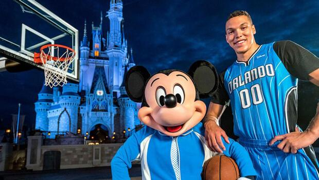 Disney, Orlando Magic'e Sponsor Oldu