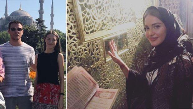 Sinan Akçılın sevgilisi Otilia Müslüman mı oluyor