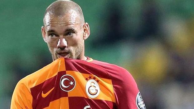 Son dakika: Wesley Sneijder Galatasaraydan ayrıldı
