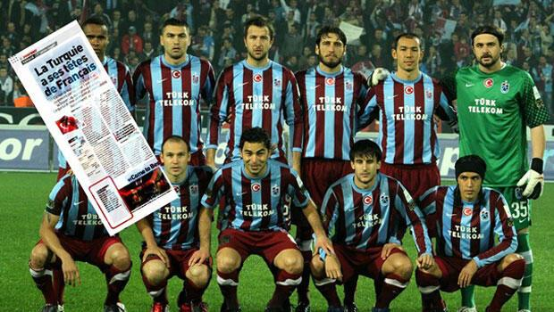 Fransız basını Trabzonsporu şampiyon gösterdi