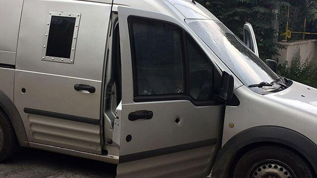 Zırhlı para aracına kurşun yağdırdılar... Hesap edemedikleri bir şey vardı