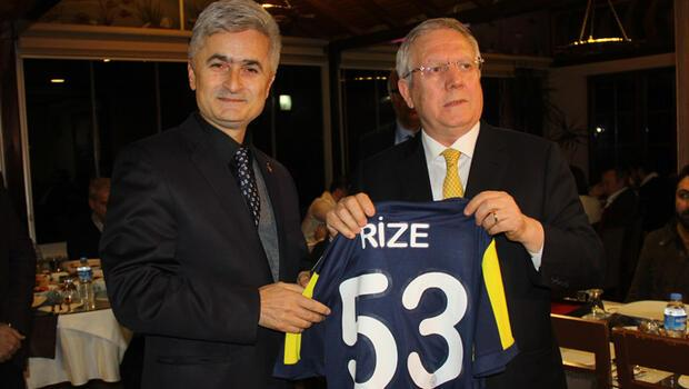Aziz Yıldırım: Rizelilerin çoğu Fenerbahçelidir, bundan hep gurur duyduk